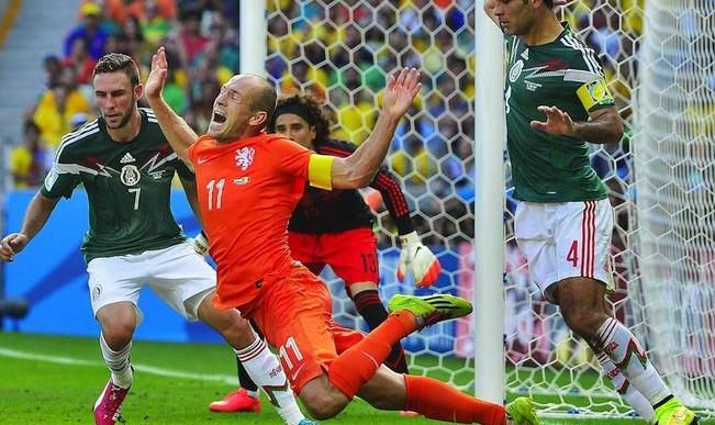 Esto dijo la FIFA sobre la «caída» de Robben