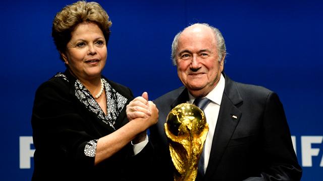 Presidente de Brasil critica a pesimistas y elogia Copa del Mundo
