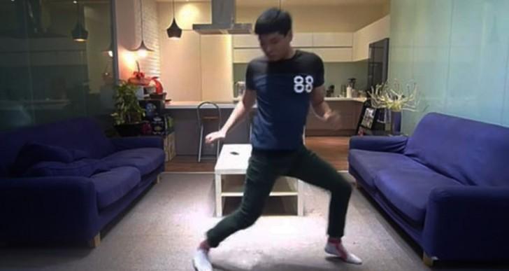 Cómo ponerte los pantalones sin utilizar las manos