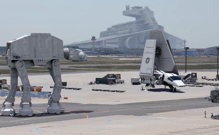 Aeropuerto en Alemania se prepara para la llegada de Star Wars