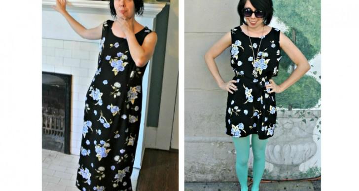 La mujer que transforma ropa de segunda mano en maravillosos vestidos