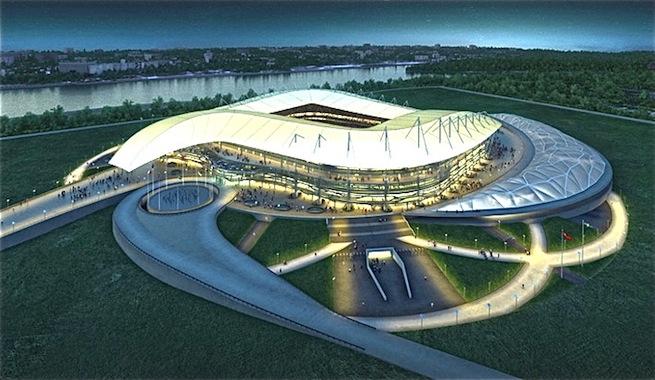 Rusia esta listo para superar los gastos de Brasil en el Mundial
