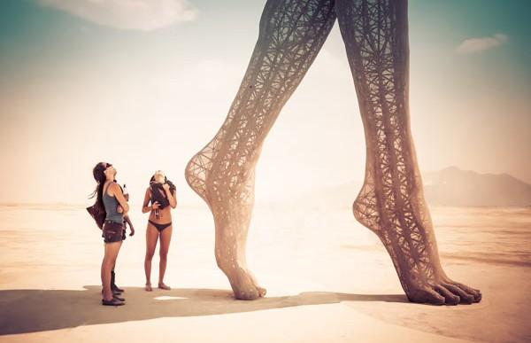Hermosas fotos del Burning Man