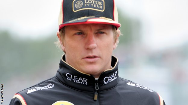 Räikkönen no debió hablar de su retiro