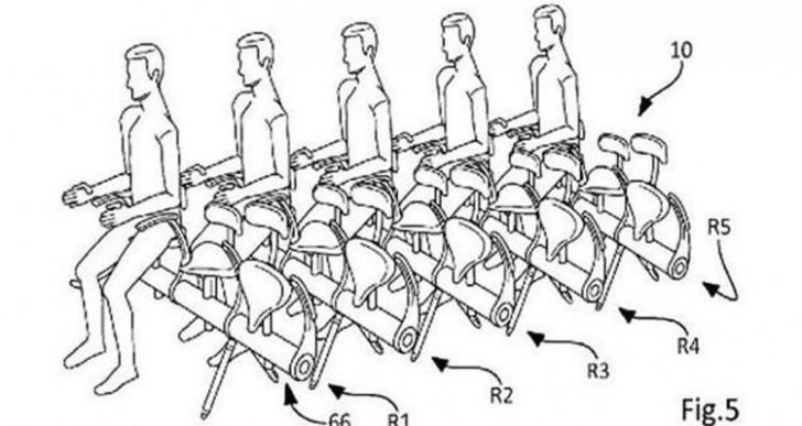Airbus patenta el asiento más incómodo que conocerás jamás
