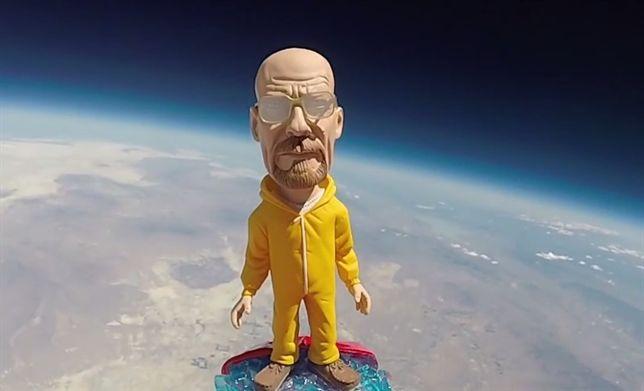 Walter White se fue de viaje al espacio