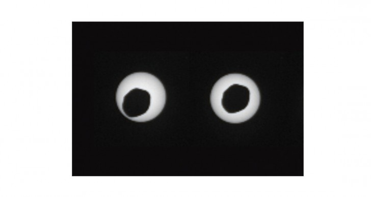 ¿Cómo es un eclipse en Marte?