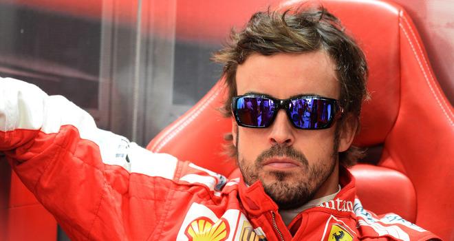 Ferrari se esta moviendo en reversa