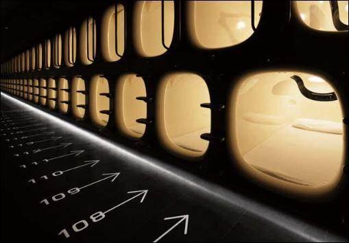 Cápsulas para dormir en los aeropuertos