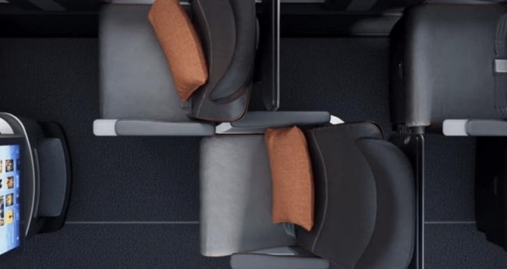 Este nuevo diseño para las cabinas hará viajar más cómodo