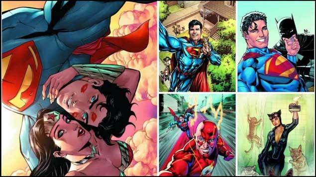 Los superhéroes se unen a la fiebre de las 'selfies'