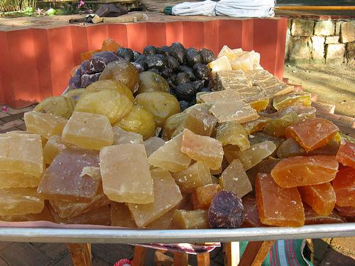 Las frutas cristalizadas artesanales de México