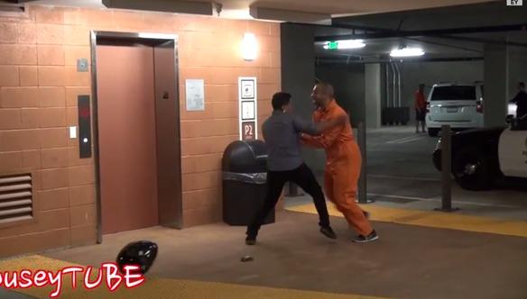 ¿Cómo reaccionarías si vieras a un delincuente escapando de la policía?