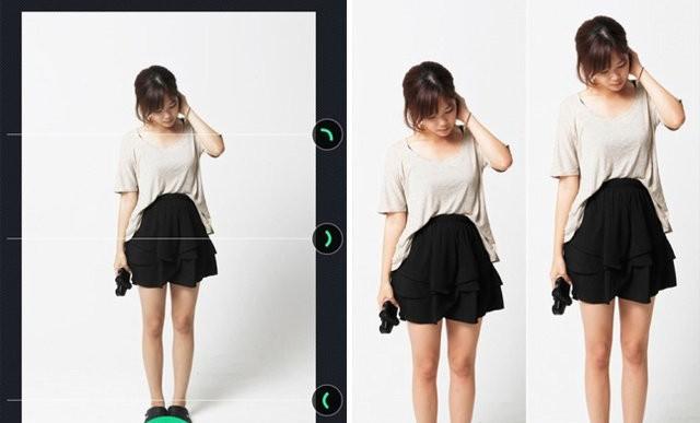 ¿Quieres verte más alta/o en las fotos? Esta app es la solución