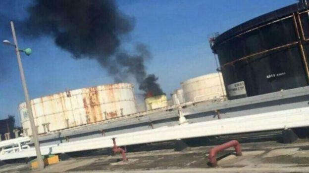 Un accidente en una refinería de Pemex causa dos muertes