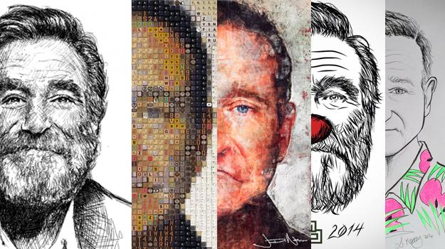 Artistas alrededor del mundo le rindieron un homenaje a Robin Williams