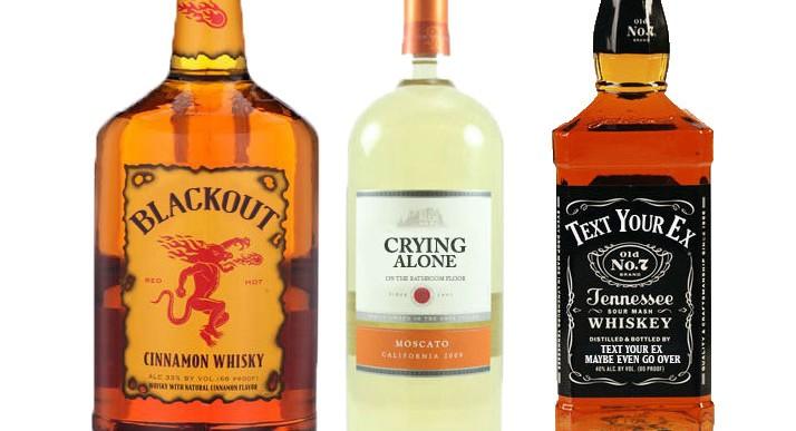 ¿Qué pasaría si las botellas de alcohol tuvieran etiquetas honestas?