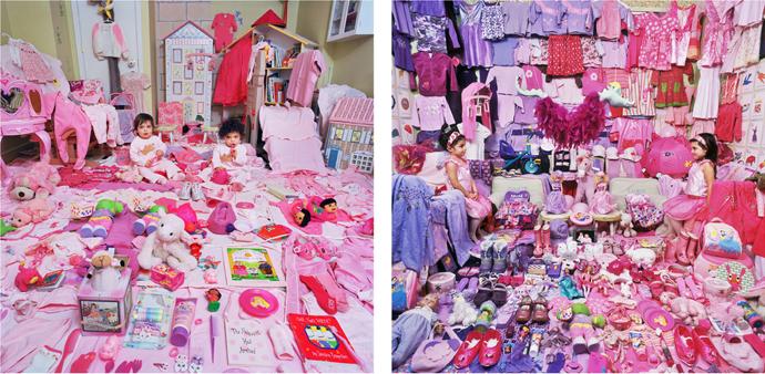 El proyecto rosa y azul de JeongMee Yoon