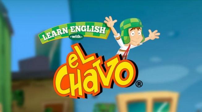 """""""El Chavo"""" invita a aprender inglés de forma gratuita"""