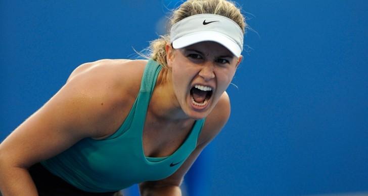 Eugenie Bouchard pierde segunda ronda de Connecticut Open