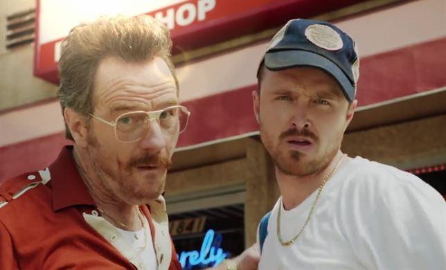 Bryan Cranston y Aaron Paul de Breaking Bad, reunidos por los Emmy