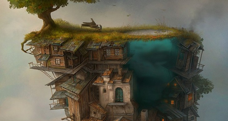 Los mundos surreales de Gediminas Pranckevicius