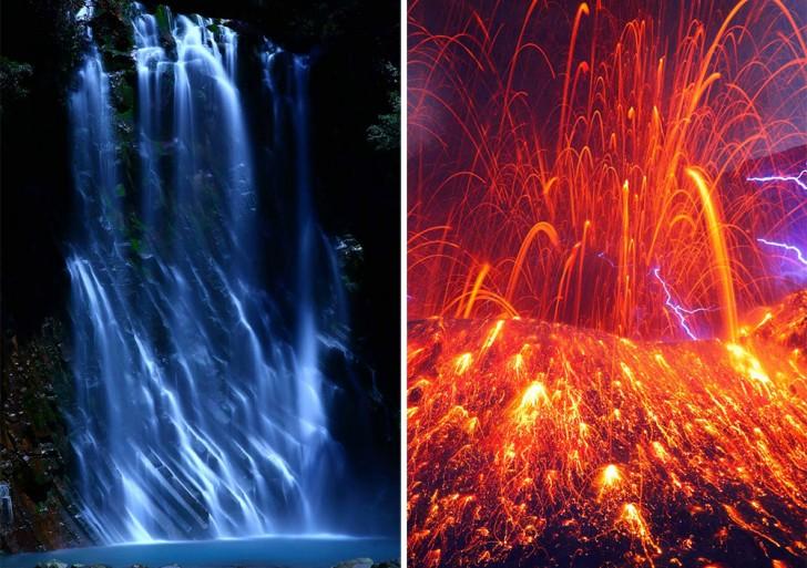 Este fotógrafo captura los brillantes espectáculos de luces naturales en Japón
