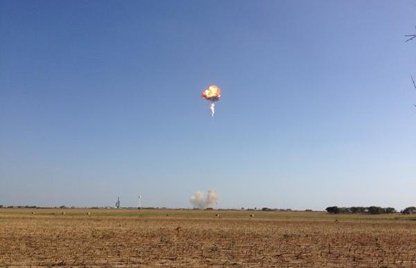 Explota un cohete de SpaceX