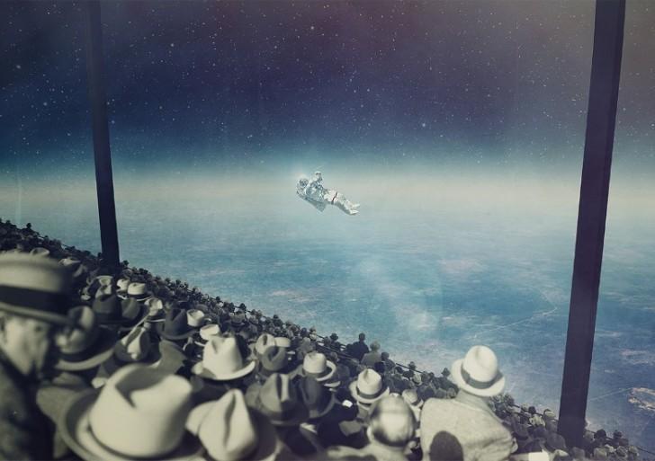 Divertidos y surrealistas collages digitales por Joseba Elorza