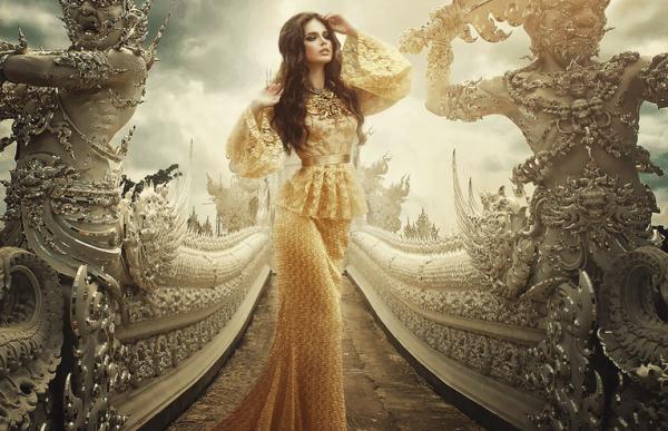 Increíbles retratos inspirados por cuentos de hadas