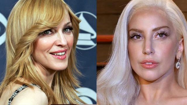 Madonna calificó a Lady Gaga de «mala copia» en una canción