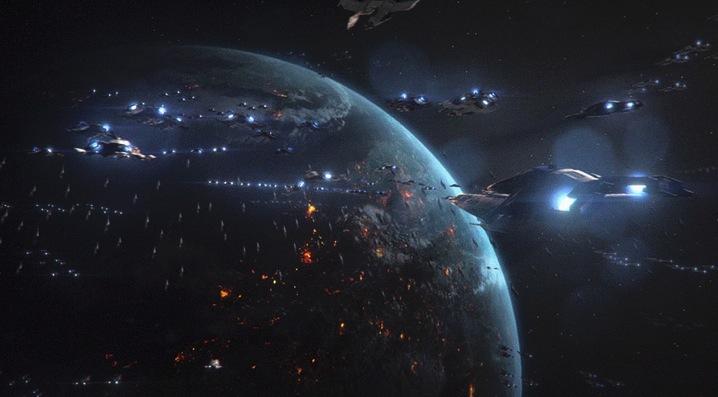 Cómo sería una verdadera pelea en el espacio según la ciencia