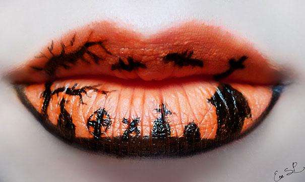 Algunas ideas para maquillar tus labios con mucho estilo este Halloween