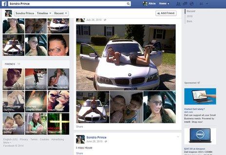 Esta mujer esta demandando al gobierno de EUA por una página falsa en Facebook