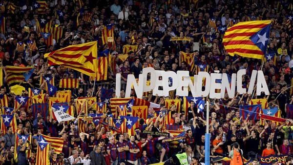 Con la independencia de Cataluña, el Barcelona ya no jugará en La Liga