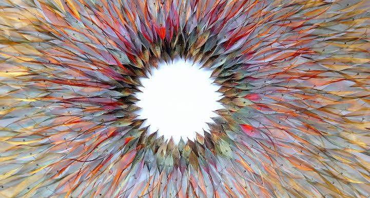 Esculturas tejidas de metal por Michelle Mckinney inspiradas por la naturaleza