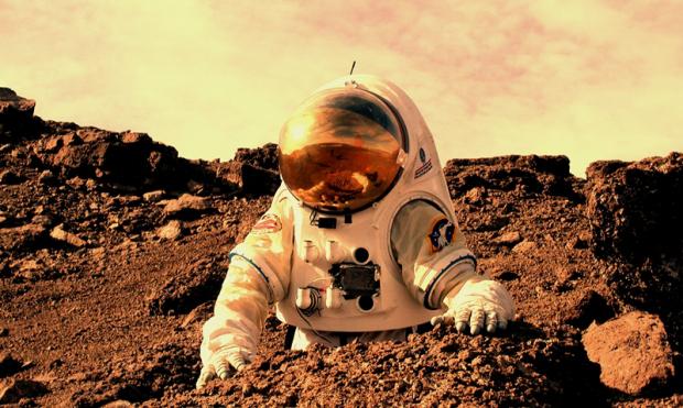 Planean mandar a un astronauta británico a la superficie de Marte