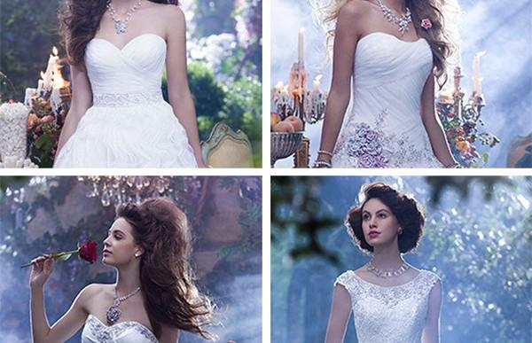 Disney lanza vestidos de novia inspirados en sus princesas