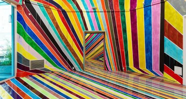 Arcoíris: Una impresionante instalación hecha por Markus Linnenbrink
