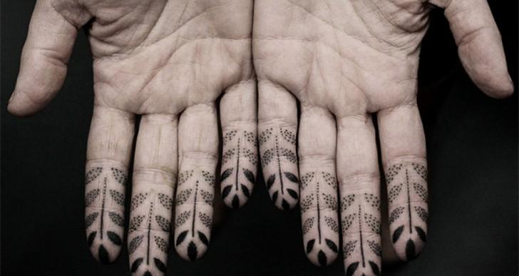 Los fantásticos tatuajes hechos con puntos por Kenji Alucky
