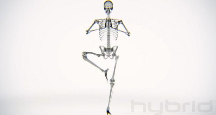 Mira lo que sucede en el cuerpo cuando alguien practica yoga
