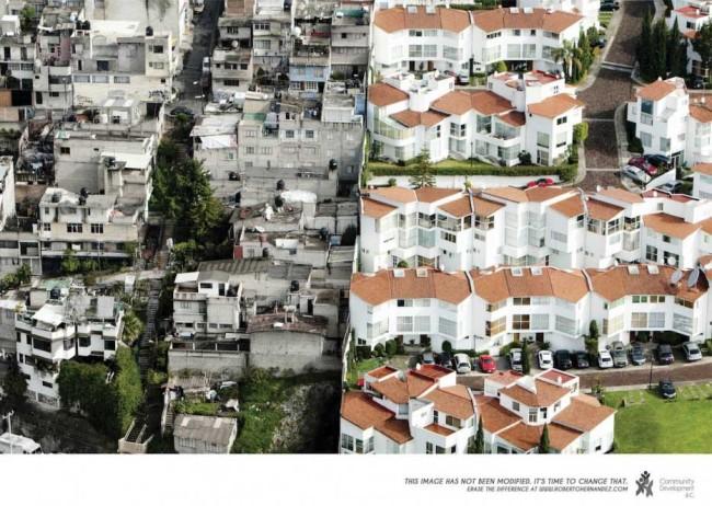 El contraste económico de la Ciudad de México en fotos