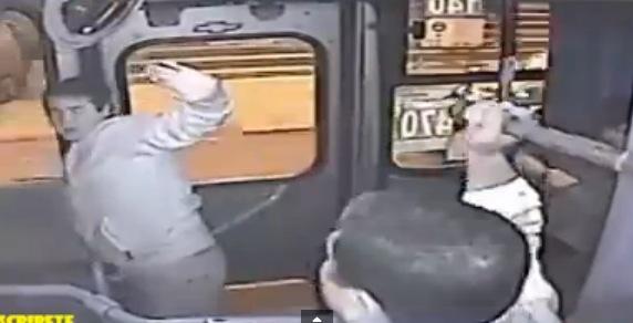 No te puedes perder este intento fallido de robo en un camión