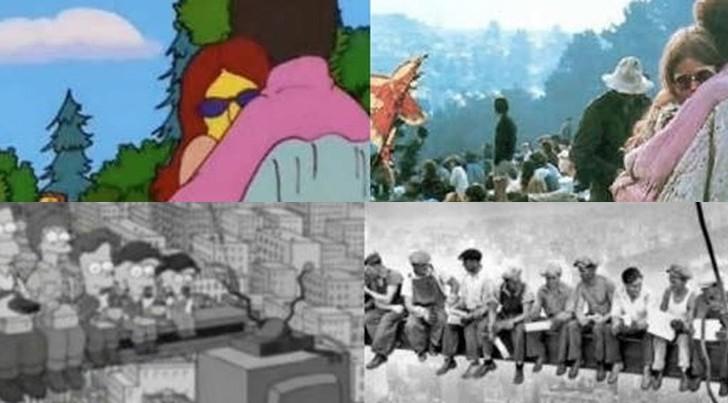 7 escenas de Los Simpson que sucedieron de verdad