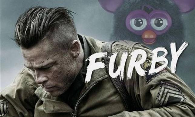 Furby, la parodia de Fury interpretada por Brad Pitt