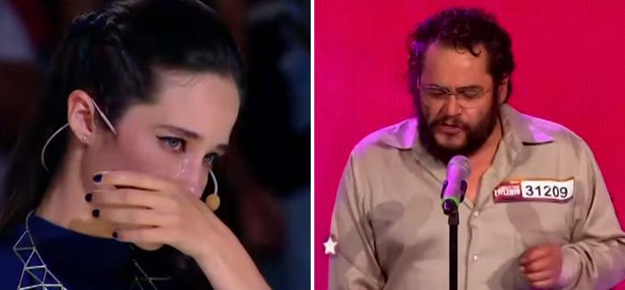 Pablo llegó a «México tiene talento» e hizo llorar a Ximena Sariñana