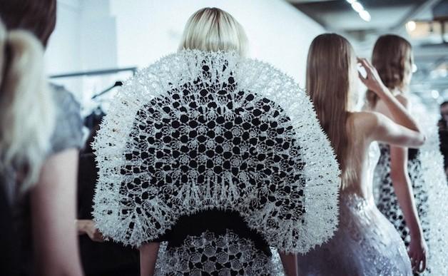 Los vestidos del futuro estarán hechos con impresoras 3D
