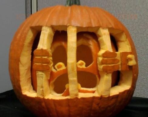 20 ideas para inspirarte para tus calabazas de Halloween
