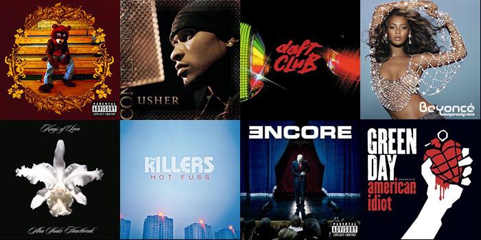 10 álbumes que celebraron su décimo cumpleaños en 2014