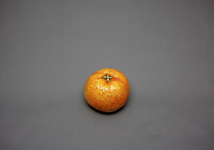 Esta mandarina no es realmente una mandarina
